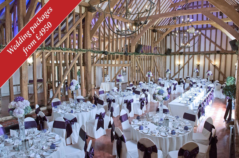 Essex Wedding Venue - Baronial Hall