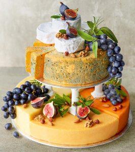 Cheese cake for alternative wedding cake