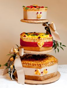 Alternative wedding cake - pie cake