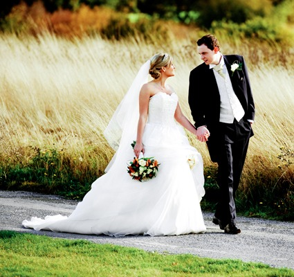 Beautiful wedding photo from Crondon Park's Essex Wedding Venue