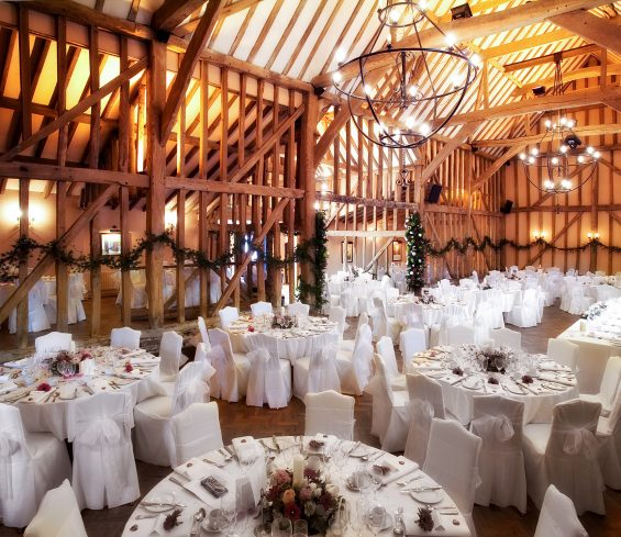 Baronial table layout essex wedding venue