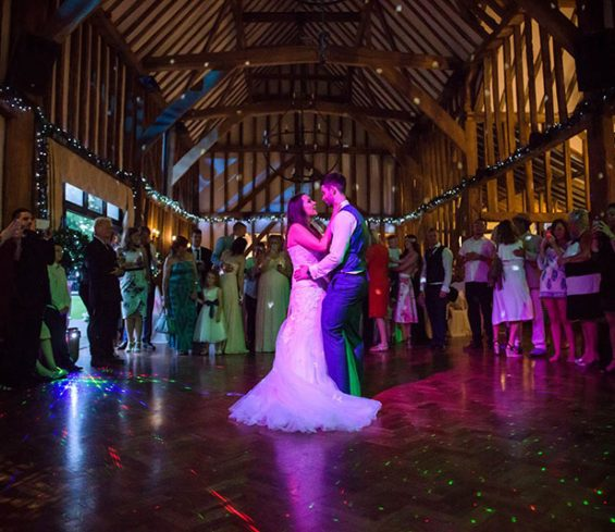 Crondon Park Bride and Groom First Dance