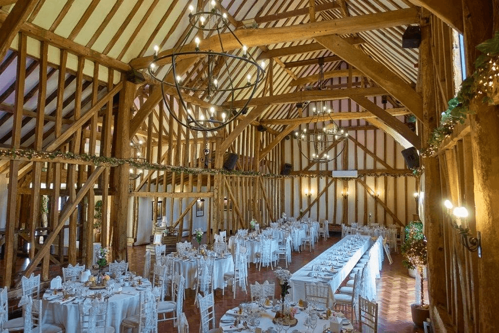 Baronial Hall wedding in October
