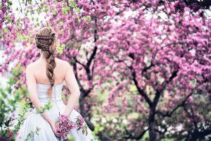 Blossom spring wedding