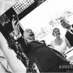 Crondon Park Wedding selfie