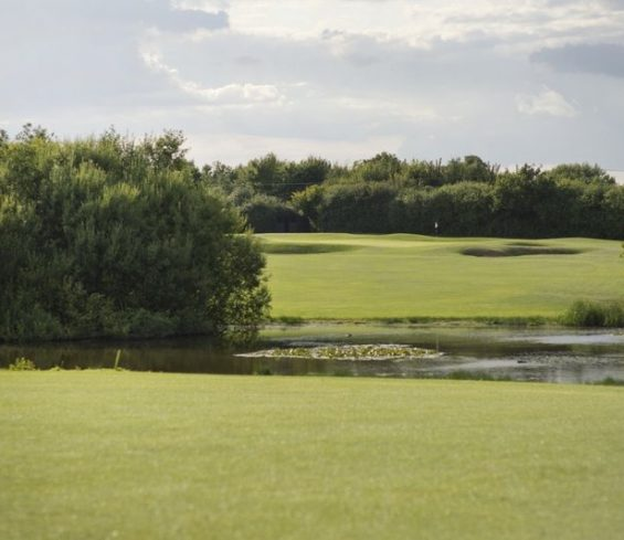 Crondon Park Golf Course with Lake