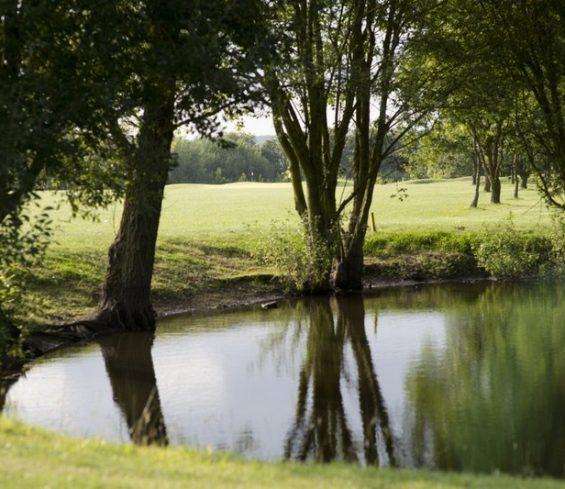 Lake inbetween holes at Crondon Park
