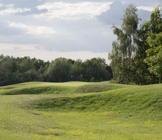 Golf Course with Bunkers at Crondon