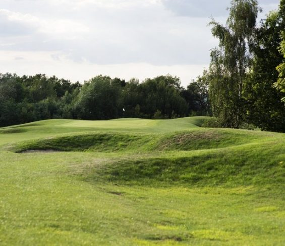 Bunkers on Golf Course