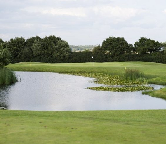 Overview of Lake on Crondon Golf Course