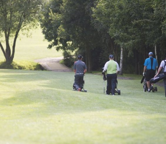 People Playing Golf at Crondon Park