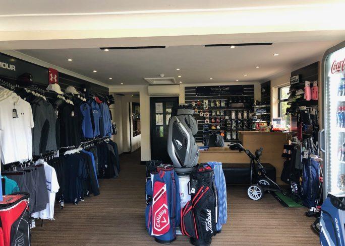 Inside Golf Shop at Crondon Park