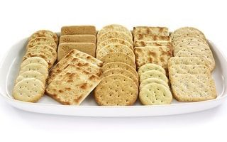 Crackers on Tray at Crondon Park