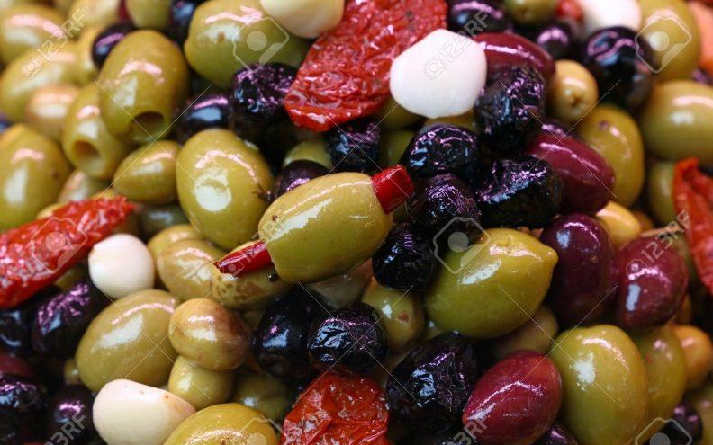 Mixed Italian Olives at Crondon Park